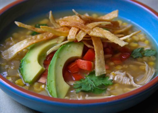 Tortilla Soup (photo taken by hzaida)